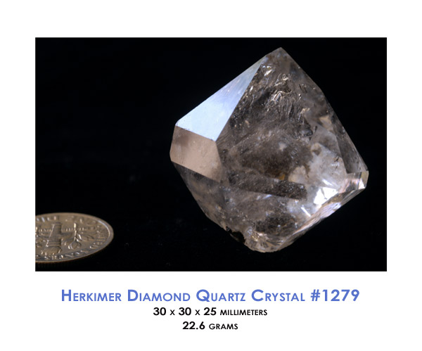 diamond tom quartz herkimer
