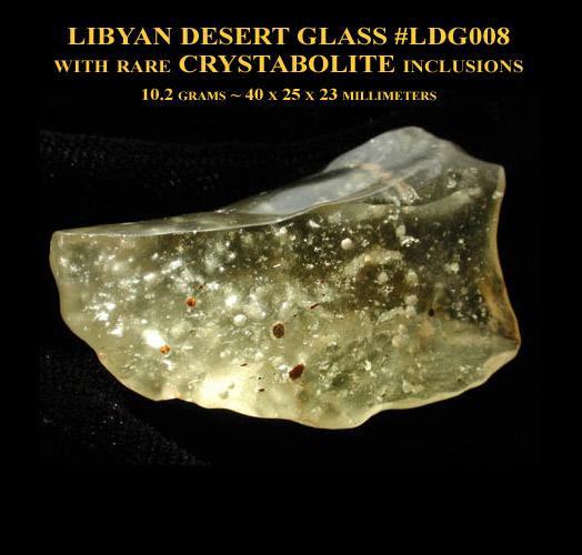 Libyan Desert Glass #008