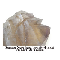 QUARTZ CRYSTAL SCEPTER
