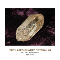 Rutilated Quartz Crystals