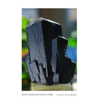 Tourmaline Carvings