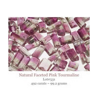tourmaline facets